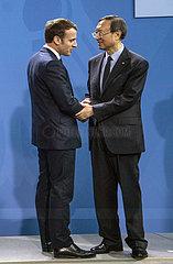 Macron + Yan Jiechi