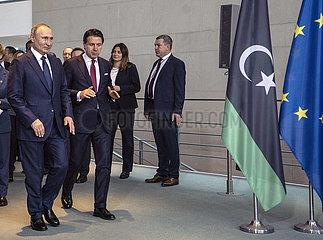 Putin + Conte