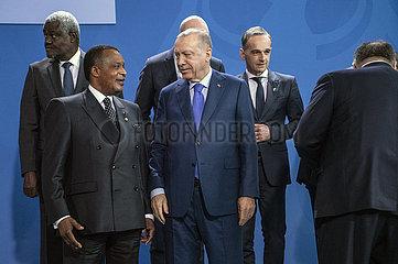Fakki + Sassou + Erdogan + Maas + Pompeo