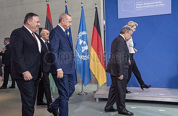 Pompeo + Tebboune + Erdogan + Guterrez + Von der Leyen
