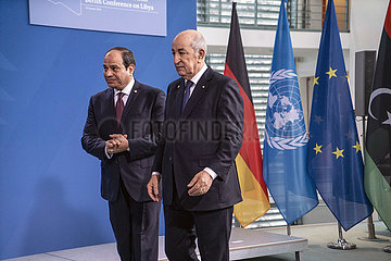 Al-Sisi + Tebboune