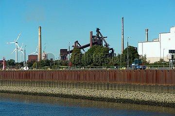 Stahlwerk in Bremen | steelworks in Bremen
