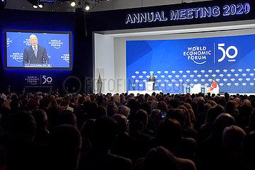 SCHWEIZ-DAVOS-WEF