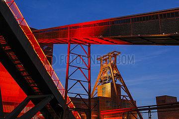 Zeche Zollverein  Ruhrgebiet  Nordrhein-Westfalen  Deutschland