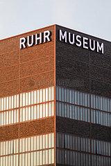 Ruhr Museum auf der Zeche Zollverein  Ruhrgebiet  Nordrhein-Westfalen  Deutschland