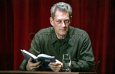 Deutsches Theater Berlin PAUL AUSTER LIEST
