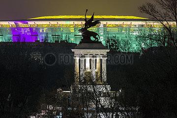 Das neue Ferenc-Puskas-Fussball-Stadion in Budapest | The new Ferenc Puskas football stadium in Budapest
