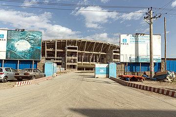 Addis Abeba  Aethiopien - Prince Makonnen National Stadium