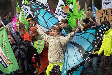 Berlin  Deutschland - Agrar-Protest  Wir haben es satt!
