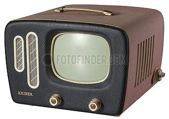 erster tragbarer Fernseher Kaiser Prinz  1959