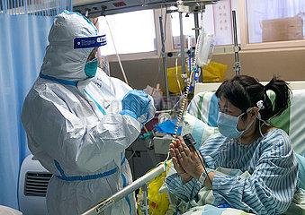 CHINA-HUBEI-WUHAN-medizinische Arbeitskraft (CN)