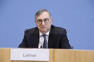 Bundespressekonferenz zum Thema: Juedisches Leben in Deutschland - bundesweite Projekte gegen den Antisemitismus