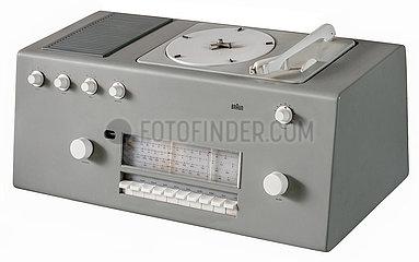 Braun studio 1  HiFi-Geraet  Kombi Radio und Plattenspieler  1956