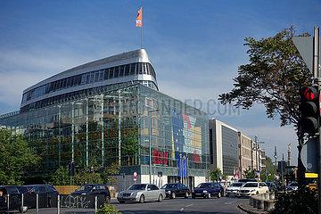 Berlin  Deutschland  das Konrad-Adenauer-Haus  Parteizentrale der CDU