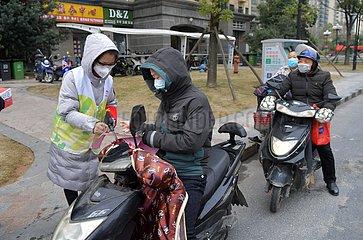CHINA-JIANGXI-NOVEL CORONAVIRUS-Prevention (CN) CHINA-JIANGXI-NOVEL CORONAVIRUS-Prevention (CN) CHINA-JIANGXI-NOVEL CORONAVIRUS-Prevention (CN)