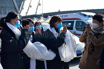 CHINA-QINGHAI-MEDICAL TEAM-AID (CN)