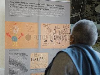 TSCHECHIEN-PRAG-AUSSTELLUNG-Holocaust-Opfer