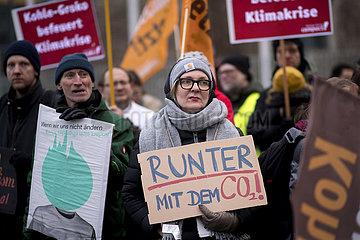 Kohleausstieg Demo