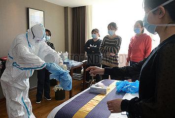 CHINA-HUBEI-WUHAN-MEDICAL TEAM (CN)