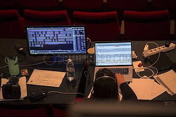 Komische Oper BLAUBART   Proben-Foto