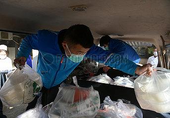 CHINA-HUBEI-WUHAN-TAKEAWAY deliveryman (CN)