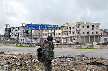 SYRIEN-Idlib-Maarat-AL-NUMAN-DESTRUCTION