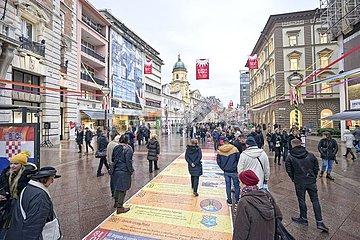 Kroatische Stadt Rijeka