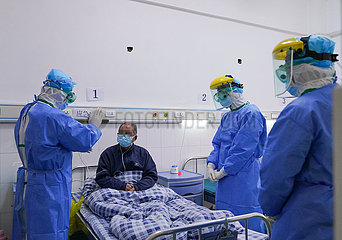 CHINA-FUJIAN-CORONAVIRUS-HOSPITAL MEDICAL-WORKERS (CN)