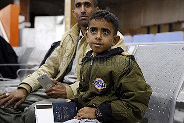 JEMEN-SANAA-WHO-PATIENTEN-MEDICAL FLIGHT