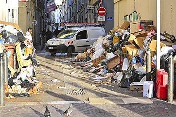Folgen der Proteste  Marseille