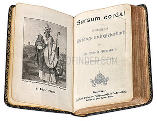 Katholisches Gesangbuch Sursum Corda  Paderborn  1930
