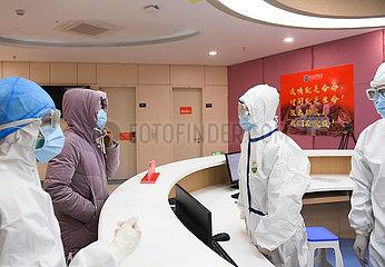 CHINA-ZHEJIANG-WENZHOU-CORONAVIRUS-gekennzeichneter HOSPITAL (CN)