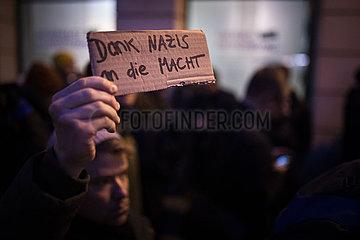 Protest bei der FDP