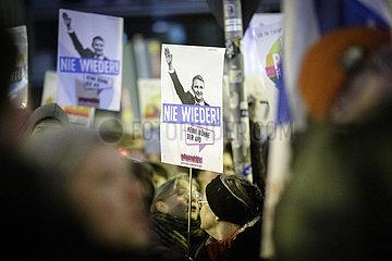 Protest vor FDP Parteizentrale