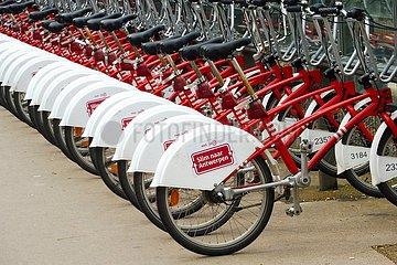 Leihfahrräder in Antwerpen | rental bicycles in Antwerp