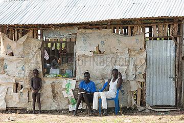 Belinkum  Gambela  Aethiopien - Dorfladen