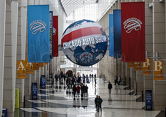 U.S.-CHICAGO-AUTO SHOW-MEDIA PREVIEW