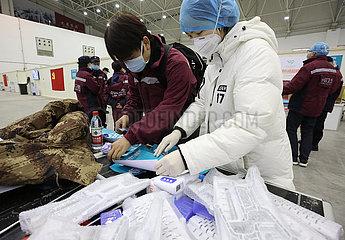 CHINA-HUBEI-WUHAN-CORONAVIRUS-MAKESHIFT HOSPITAL (CN)