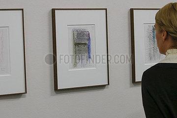 Ausstellung Gerhard Richter. Neue Zeichnungen 2017 - 2020 im Albertinum  Staatliche Kunstsammlungen Dresden