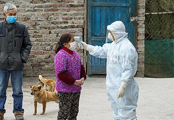 (FOCUS) CHINA-CHONGQING-NOVEL CORONAVIRUS-EPIDEMIC-Land-Gesundheitsfürsorger (CN) (FOCUS) CHINA-CHONGQING-NOVEL CORONAVIRUS-EPIDEMIC-Land-Gesundheitsfürsorger (CN)