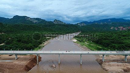 BOLIVIEN-SANTA CRUZ-HIGHWAY BRIDGE-BETRIEB