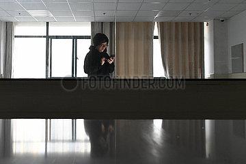 CHINA-HEFEI-NOVEL CORONAVIRUS-Krankenschwester (CN)