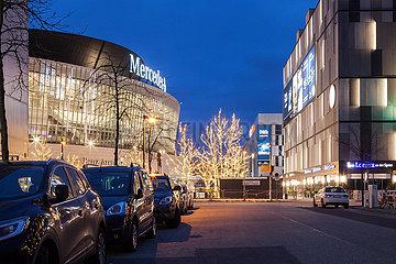 Mercedes-Benz-Arena am Mercedes-Platz in Berlin-Friedrichshain