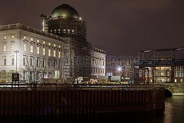 Berliner Schloss - Humboldtforum am Schlossplatz in Berlin-Mitte
