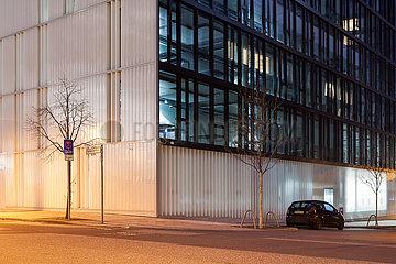 Neubau eines Buerogebaeudes fuer Zalando in der Valeska-Gert-Strasse in Berlin-Friedrichshain