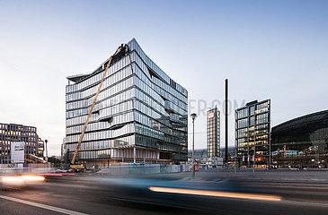 Neubau Cube am Washingtonplatz in Berlin-Moabit