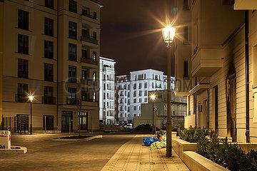 Neubauprojekt Box Seven in der Boxhagener Strasse in Berlin-Friedrichshain