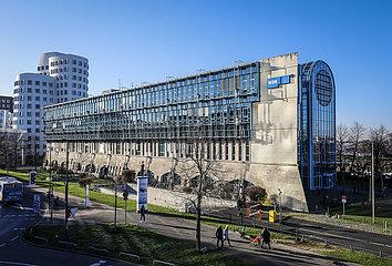 WDR Funkhaus  Duesseldorf  Nordrhein-Westfalen  Deutschland  Europa