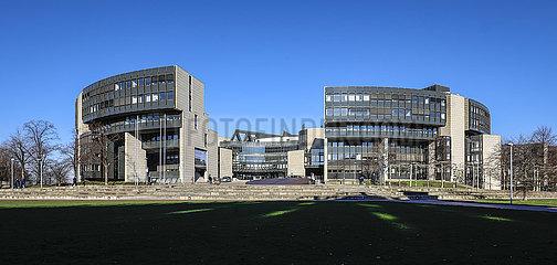 NRW-Landtag  NRW Nordrhein Westfalen Landtagsgebaeude  Duesseldorf  Nordrhein-Westfalen  Deutschland  Europa