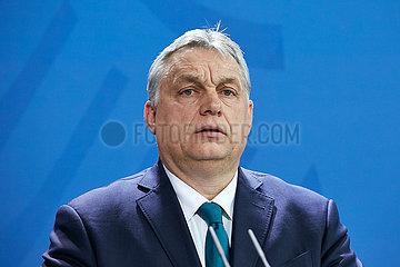 Berlin  Deutschland - Viktor Orban  Ministerpraesident von Ungarn.